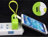 Câble de fil de pouvoir de remplissage des caractéristiques USB pour l'iPhone de Samsung