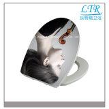Drucken-moderner Entwurfs-Toiletten-Sitzdeckel-Hersteller