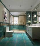 Keramisches u. Porzellan-rustikales Fußboden-Fliese-durchlässiges keramisches/Porzellan, das Wand-u. Fußboden-Fliese pflastert