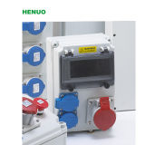 Elektrischer industrieller Kontaktbuchse-/Anschluss-Plastikkasten mit Unterbrecher-Fernsteuerungsplastikgehäuse