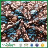 190GSM熱い販売のポリエステルによって印刷されるスエットシャツの羊毛ファブリック