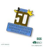 Distintivo su ordinazione poco costoso dello smalto dell'oro del distintivo della concorrenza di inscatolamento