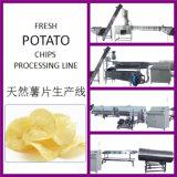 La patata fresca della Cina fritta scheggia la riga di produzione alimentare