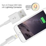 Câble de 8 de Pin USB de chargeur de cordon caractéristiques de synchro