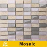 壁の装飾の地平線シリーズ(地平線S.A. 03/A04)のための熱い販売8mmの水平の組合せのクリスタルグラスのモザイク