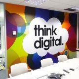 다채로운 배경 아름다운 자동 접착 벽 벽화