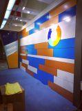 Panneau composé en aluminium coloré pour la décoration extérieure