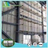 EPS van het Cement van de Vezel van de isolatie Concrete Muur die voor Binnenlandse en BuitenMuur Commissie