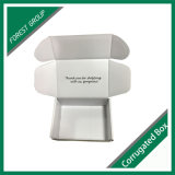 Weißer verpackenkasten mit Firmenzeichen-Drucken-Großverkauf