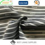 Le procès 100% des hommes de son du polyester deux et la piste de jupe avec le constructeur de la Chine de tissu de garniture de logo