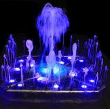 Belle musique colorée Outdoor Dancing Garden Fontaine d'eau