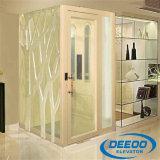 Piccolo elevatore domestico di vetro dell'elevatore domestico poco costoso della villa