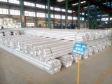 China Diseño personalizado Alto grado certificado de fábrica de suministro Fino 2024 T6 7050 6100 6061 Aluminio Redonda Precio de la barra
