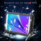 Caso de alta calidad Móvil impermeable para Samsung Nota 5