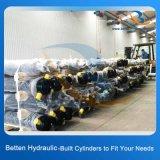 Cilindro hidráulico telescópico ativo dobro para o reboque da descarga