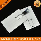 금속 신용 카드 USB3.0 섬광 드라이브 (YT-3101-03)