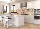 Branco armário da cozinha de Lacqure de dois blocos (ZHUV)