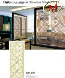 ホーム装飾(モモの花パターン)のためのステンレス鋼スクリーンのガードレール