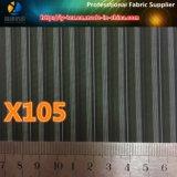 Merci rapide del tessuto tinto della banda del filato di poliestere per l'indumento (X105-110)