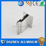 Fin del listón obturador del rodillo Serie Puerta de aluminio Perfil de aluminio con colores diferentes
