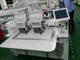 Wonyo 2 dirige 9/12 machine de broderie automatisée par couleurs pour le prix de chapeau/T-shirt/à plat de broderie en Chine