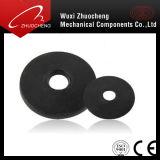 공장 공급 둥근 디스크 검정 편평한 세탁기 DIN126 ISO7091