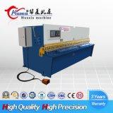 Do feixe hidráulico do balanço do metal de folha do CNC máquina de corte