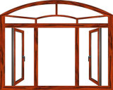 Elaborazione di parametri di vetro della griglia di disegno del blocco per grafici di finestra di alluminio dell'arco