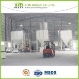 Le carbonate de calcium de qualité supérieure a employé dans la blancheur du colorant 97%