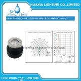 Luz subaquática Recessed diodo emissor de luz branca da associação de IP68 316ss