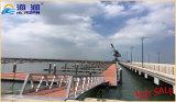 Le yacht de dock flottant de bonne qualité a galvanisé l'échelle d'embarquement en acier fabriquée en Chine