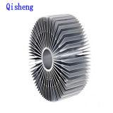 Dissipador de calor, do material do forjamento, fazer à máquina do CNC