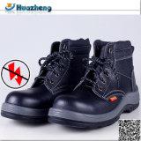Sapatas de isolamento de trabalho isoladas resistentes do couro genuíno do enxerto expresso de Alibaba