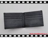 2016 изготовленный на заказ людей бумажника кожи RFID черноты конструктора