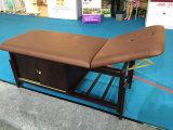 Vector inmóvil del masaje con la cabina
