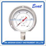 差動圧力正確に測二重Bourdonの正確に測針の圧力計