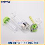 Tazas y tapas plásticas modificadas para requisitos particulares del agua de diversos colores