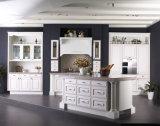 Mobília Home 15 anos de experiência gabinete de cozinha da madeira contínua do exportador do projeto de América, Canadá