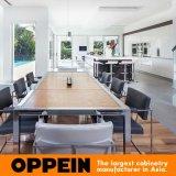 Мебель кухни острова самомоднейшего меламина Oppein деревянная (OP16-PN1)