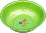 Alta Qualidade Atacado Customized Bright Color Logo Spray Plastic Basin
