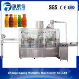 3 en 1 máquina de rellenar plástica del zumo de fruta de la botella