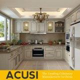 Heiße verkaufenu-Art-festes Holz-Küche-Schrank-Küche-Möbel (ACS2-W10)