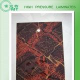La melamina hizo frente a la hoja Laminate/HPL decorativo de la tarjeta/del Formica