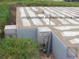 Configuração Prefab da casa do concreto pré-fabricado de Jwt pela máquina oca concreta da laje do núcleo