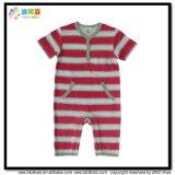 Streifen-Drucken-Baby-Kleid-Unisexkinder Playsuits