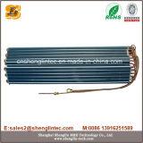 Serpentina d'evaporatore blu del rame dell'aletta per il condizionatore d'aria