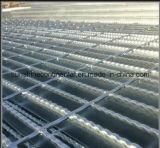 Grating van het Staal van de Gang van het Platform van de Vloer van Galvanzied Staaf Getande