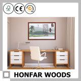 Frame de retrato de madeira do retângulo branco moderno para a decoração interior