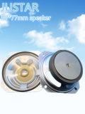 77mm 4-16ohm 1-5W Plastik Lautsprecher mit RoHS