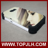 TPU+PC Geval van de Telefoon van de sublimatie het Mobiele voor de Melkweg van Samsung S6